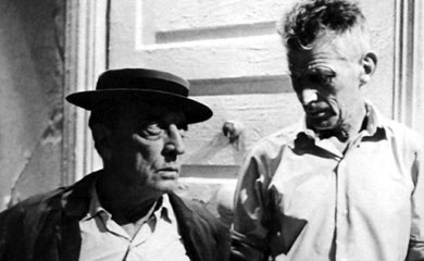 """Film"" and ""Notfilm"": Playwright Samuel Beckett meets Buster Keaton"
