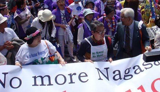 For the victims in Hiroshima and Nagasaki, end nuclear arms