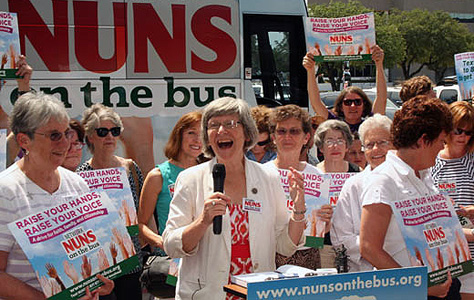 """Nuns on the Bus"" tour nation for immigration reform"