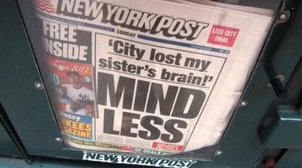 NY Post endorsement of Lhota so outlandish, it's crazy
