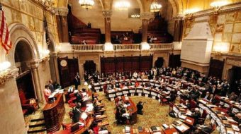 NY Republicans grab power in state Senate