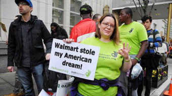 Walmart worker explains why she shut down Park Ave.