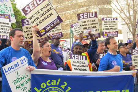 Workers say city services are vital to public safety