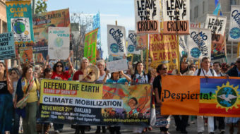 Climate march in Northern California demands environmental justice