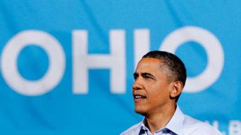 "Obama urges voters to ""break the logjam"" in DC"