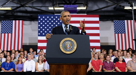 President Obama lays out his vision for the economy