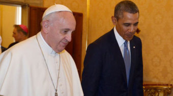 Obama, Francis find common ground on income inequality