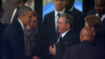 A handshake that shook the world