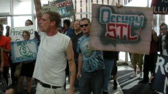 """Occupy"" demonstrations erupt in St. Louis"