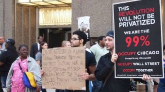 Jobs with Justice joins Chicago occupation (with video)