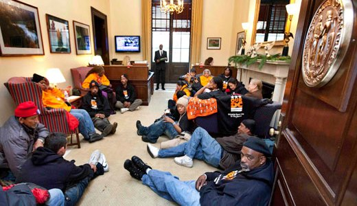 Occupiers message to Congress: All we want for Christmas is good jobs