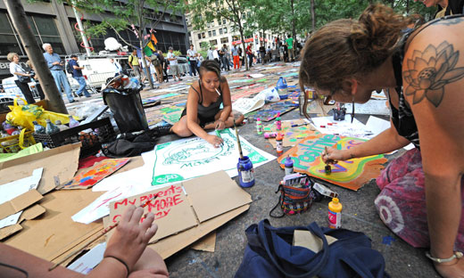Occupation of Wall Street nears third week (with video)