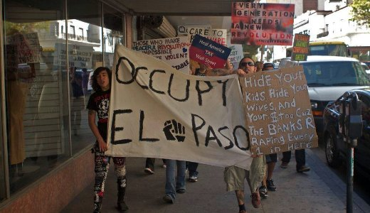 Border Occupy movement: deadlines, police violence, solidarity