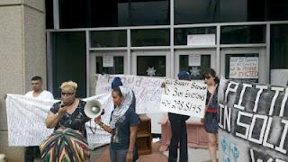 Atlanta family, battling foreclosure, evicted at gunpoint