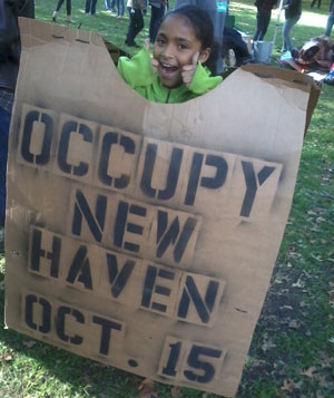 New Haven joins Occupy Movement