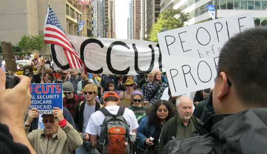 Occupy Wall Street is the voice of America