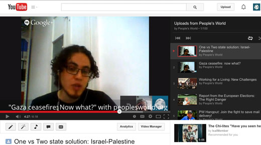 Video: On Israel-Palestinian peace, a look at one vs. two-state solution