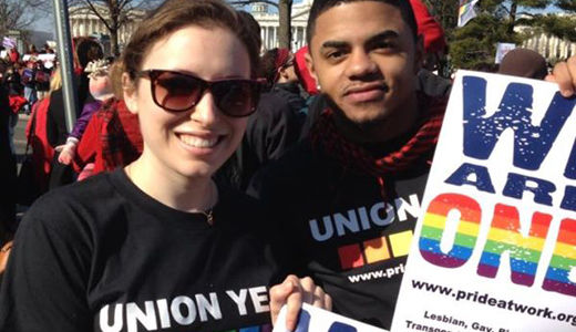 Labor Dept., unions go to bat in court for same-sex couples