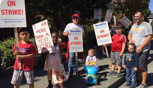 Seattle teacher's strike solid on day four