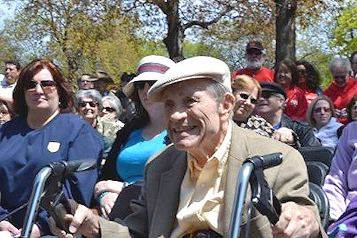 """Out of The Jungle"" labor activist Les Orear dies at age 103"