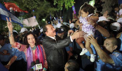 Sandinista landslide in Nicaragua elections