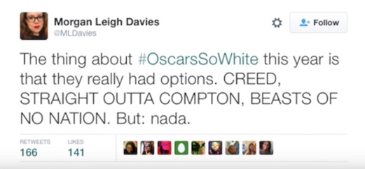 VIDEO: #OscarsSoWhite goes viral