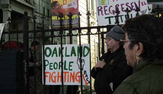 Bay area activists protest home foreclosures