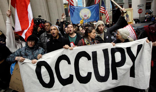 "Occupy, unions and allies: ""We refuse to be evicted"""