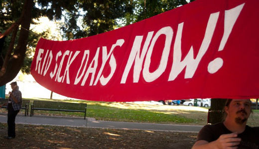 Oregon anti-labor groups try to kill paid sick leave