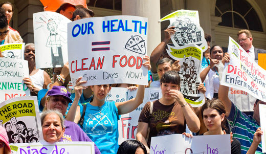 New Yorkers continue the fight for paid sick leave