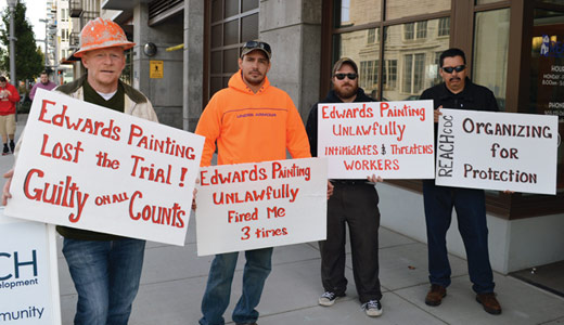 Oregon contractor broke labor law, NLRB rules for union painters