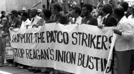 Image result for reagan PATCO