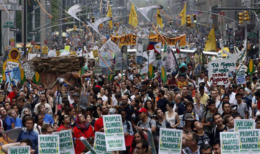 Activists use impetus of Climate March to invoke justice