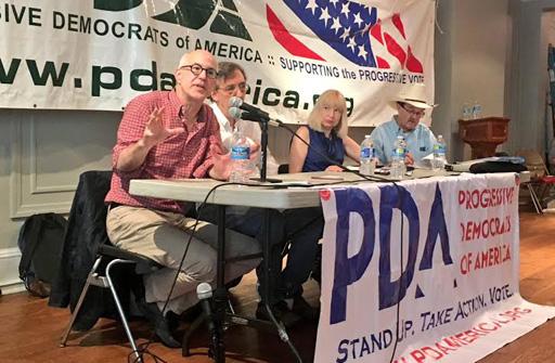 Progressive all-stars talk voting, future at Philly LGBT center