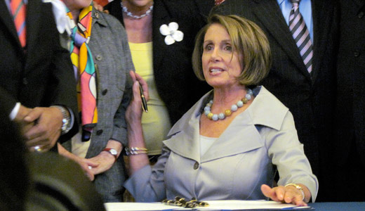 Pelosi vows to curb corporate cash if Dems retake House