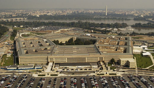 Low wage workers at Pentagon walk out