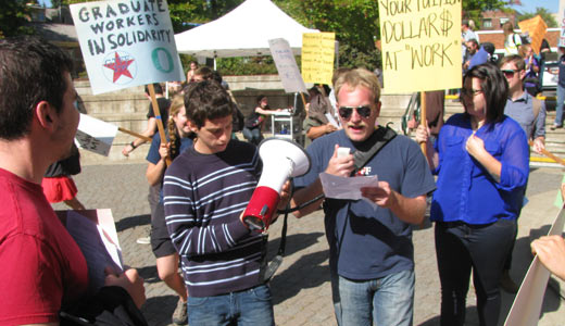 Students, teachers protest university privatization, tuition hikes