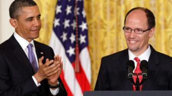 Union leaders like Obama's choice for labor secretary