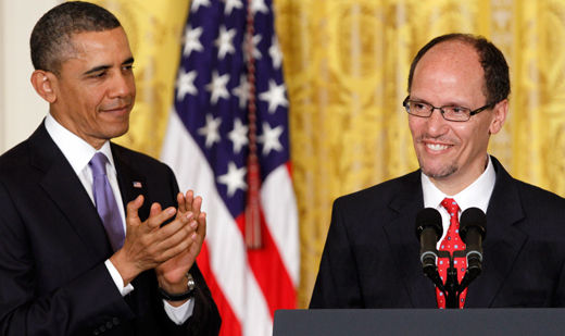 Union leaders like Obama's choice for labor secretary