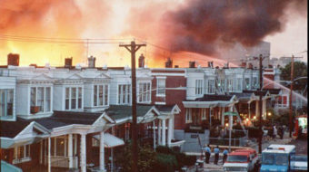 Today in history: Philadelphia police bomb MOVE 30 years ago