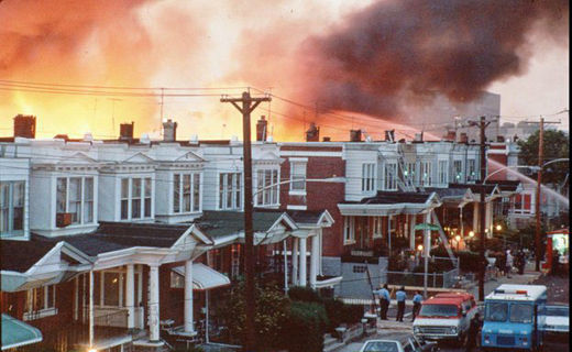 Today in history: Philadelphia police bomb MOVE 30 years ago
