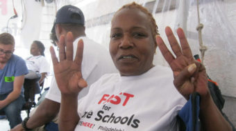 Philly hunger strikers fast for safe schools