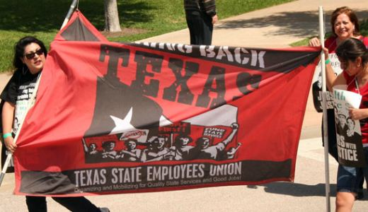 "In Texas, thousands rally to ""Save our State"""