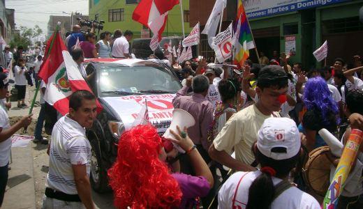 Left advances in Peru's elections