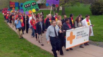Capitol rally says: Get on board for health care