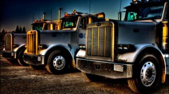 Teamsters campaign against extra-large trucks
