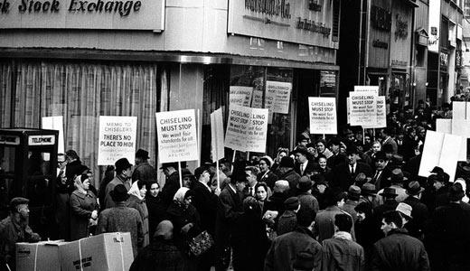 Today in Labor History: Picketing declared unconstitutional