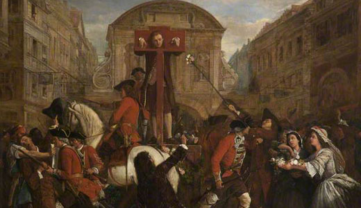 Today in labor history: Daniel Defoe pilloried for defending dissent
