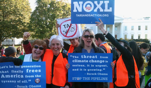 Domestic Workers United, Occupy Wall Street oppose Keystone XL pipeline