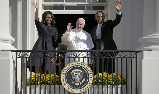 Pope Francis at White House: Fight climate change, aid immigrants